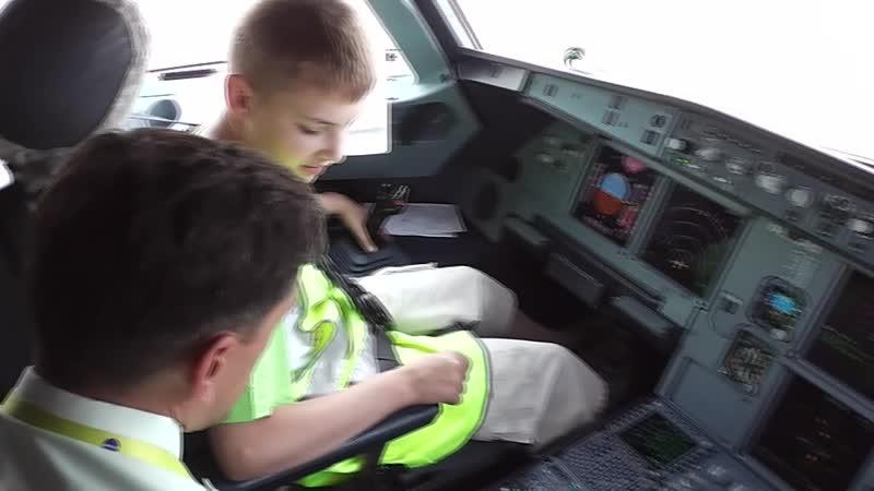 Экскурсия с S7 в Ставропольский аэропорт 01.06.2013г.
