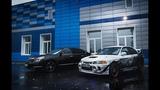 Nissan Teana vs. Lancer Evo