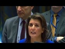 🔴 Nikki Haley Speech on Middle East Situation at United Nation Security Council Meeting