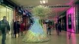 3D-mapping на платье ТЦ Европейский Wedding dress 3d-mapping