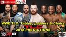 WWE TLC 2018 SmackDown Tag Team Titles The Bar vs The New Day vs The Usos Predictions WWE 2K19