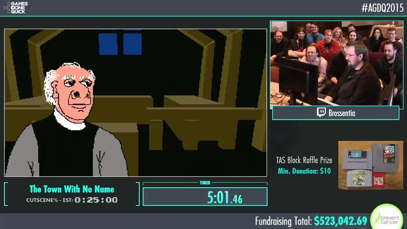 Awesome Games Done Quick 2015 - Part 117 - Town With No Name by Brossentia