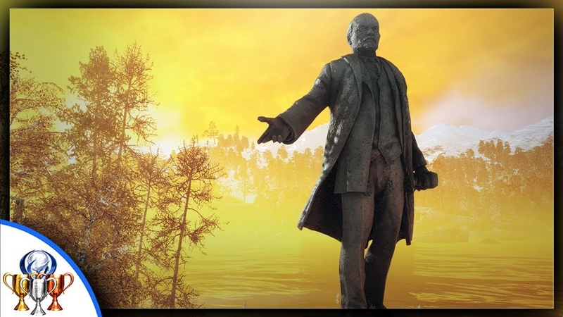 Metro Exodus - Decommunization Trophy Achievement - Destory the Statue at the Childrens Camp