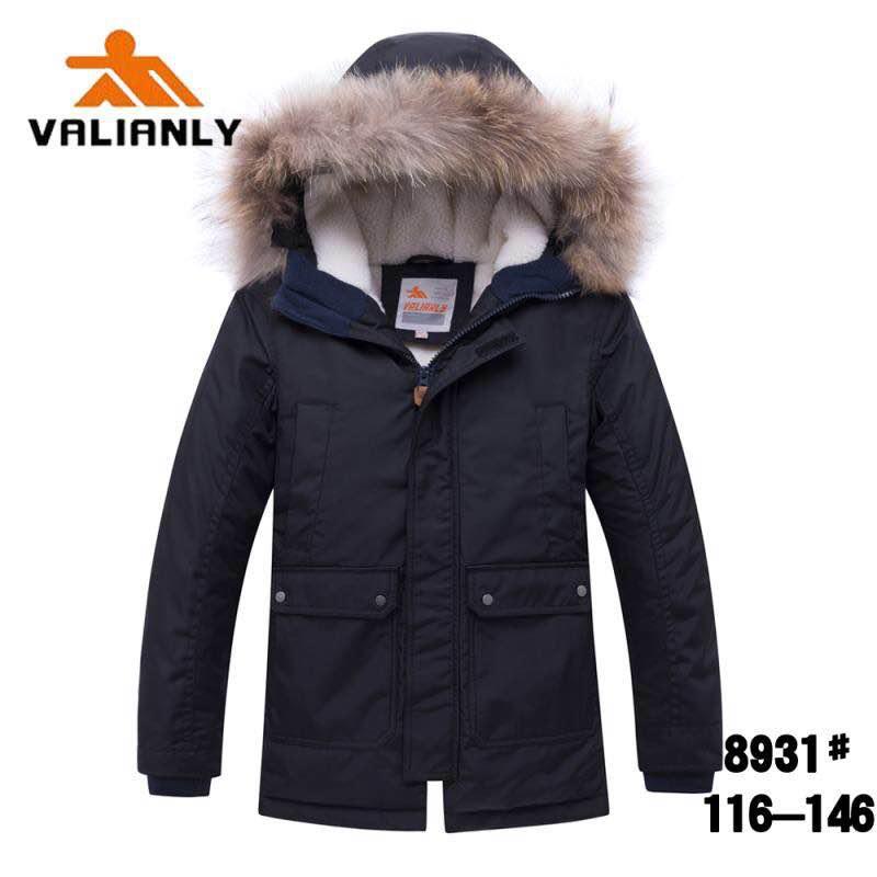 Зимняя куртка Valianly 8931 черная