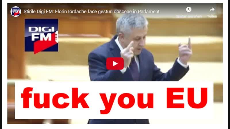 Știrile Digi FM Florin Iordache face gesturi obscene în Parlament