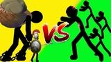 Stick War 2 - (Insane) Spearton &amp Giant Boss VS Zombie
