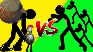 Stick War 2 - (Insane) Spearton & Giant Boss VS Zombie