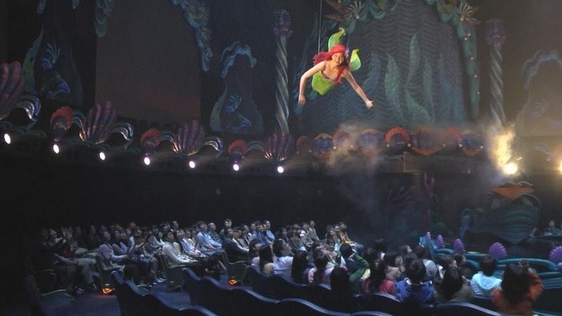 アリエルの歌声間近に ディズニーで施設新装 Tokyo DisneySea to open refurbished Mermaid Lagoon Theater