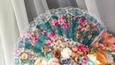 Головной убор с веером и цветами ЛисьяМастерская