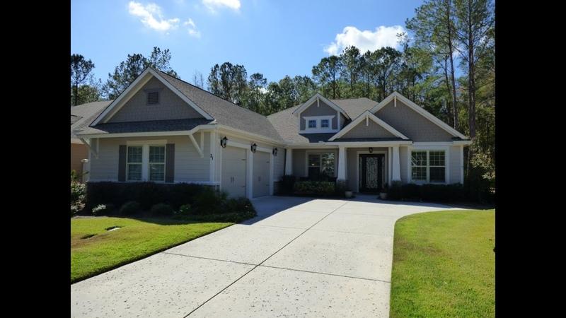 Hampton Lake Home With Beautiful Luxury Upgrades in Bluffton SC