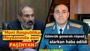Məni Respublika Meydanında asın-PAŞİNYAN, Gömrük generalı rüşvət alarkən həbs edildi
