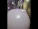 Оформление шарами месяц и звезды на выписку