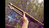 MAKING A WILLOW BARK OVERTONE FLUTE - 5 minute Tutorial