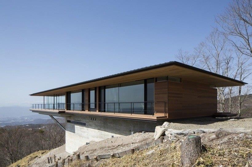 Дом у подножья горы Yatsugatake