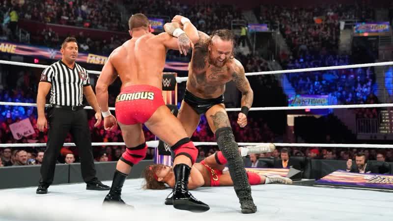(WWE Mania)The Revival vs Aleister Black Ricochet vs Chad Gable Bobby RoodeRaw Tag Team Championship (Fastlane 2019)