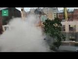 ФАН публикует видео обрушения стены при сносе здания в Петербурге