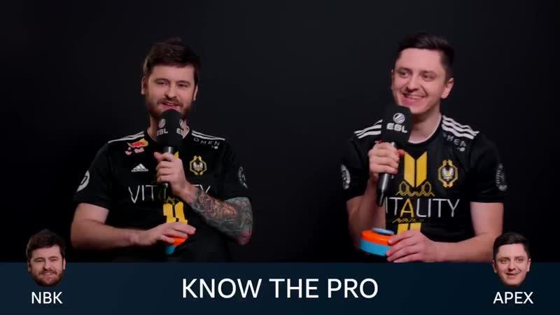 Как NBK и apEX отгадывали про игроков