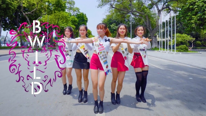 KPOP IN PUBLIC CHALLENGE Red Velvet 레드벨벳 Power Up Dance Cover By B Wild From Vietnam