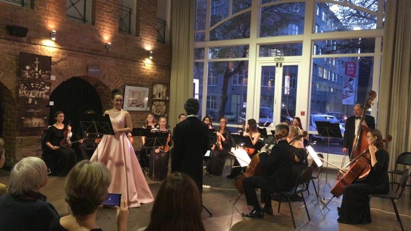 Закрытие фестиваля КАМЕР Fest Евгения Душина сопрано Австрия и камерный оркестр В А С Н