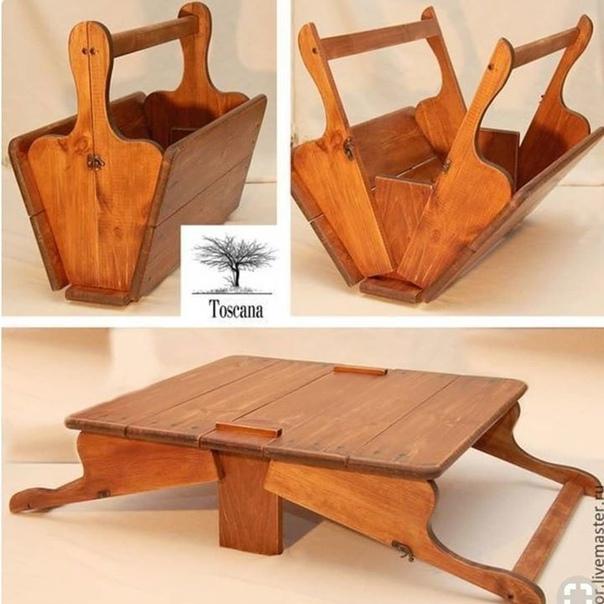 Корзинка-столик для пикников