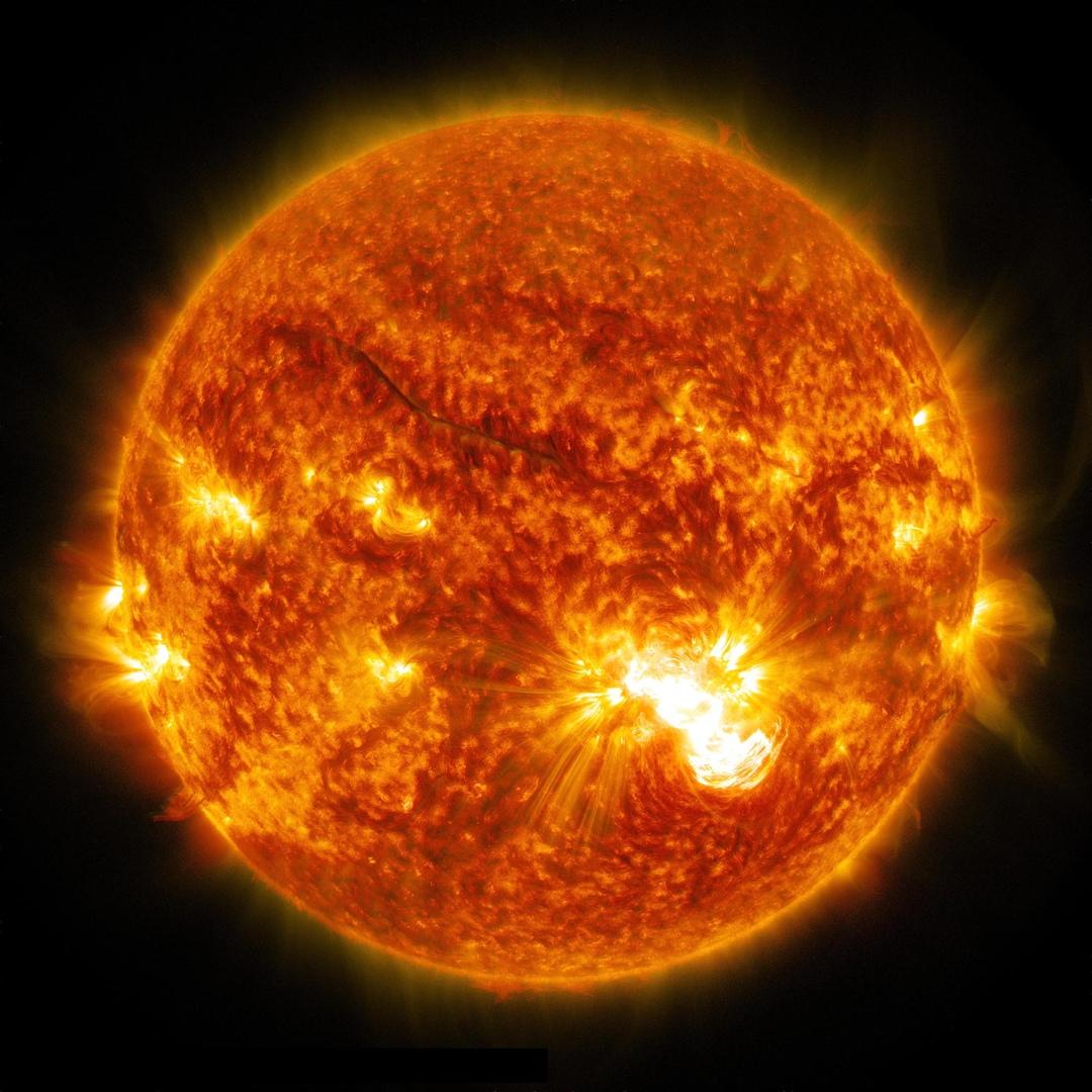 nasa sun images - HD1080×1080