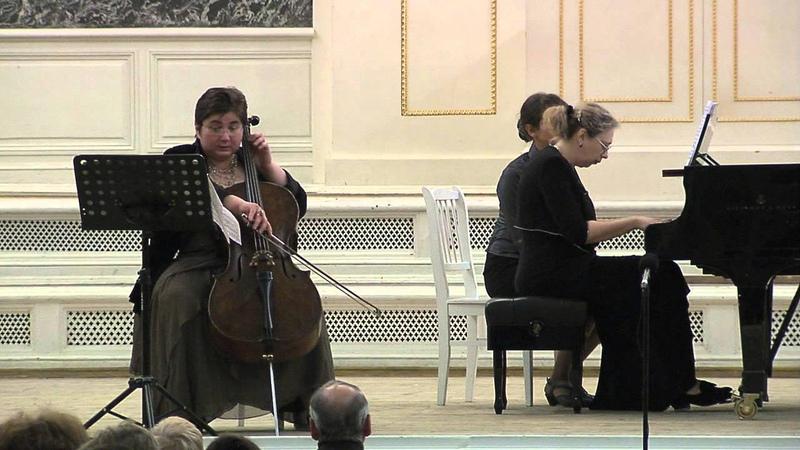 С.Рахманинов.Соната для виолончели и фортепиано соль минор, соч.19 Allegro mosso