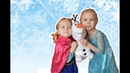Эльза и Анна спасают Олафа Видео для детей