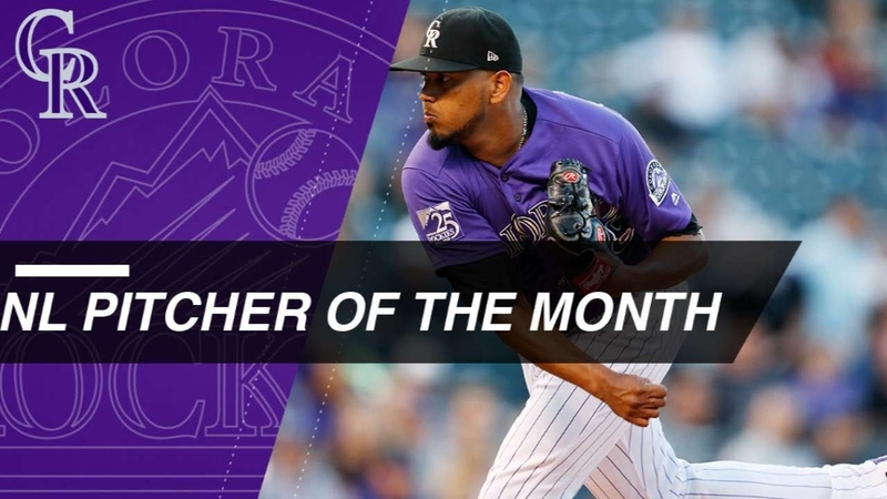 NL Pitcher of the Month German Marquez