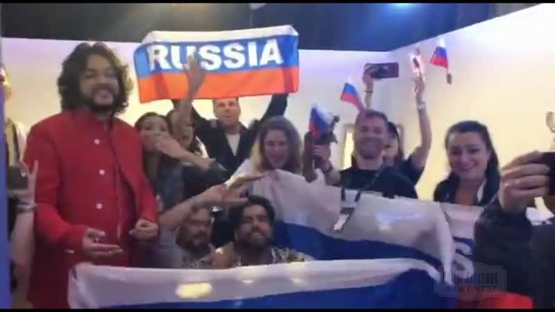Сергей Лазарев с песней Филиппа Киркорова в финале Евровидения 2019. Почетное 3-е место! Поздравляем!