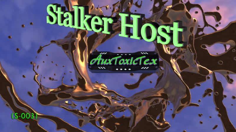 Stalker Host проект 3D (S-003) production