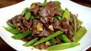 潮汕芥兰炒牛肉为啥好吃,原来窍门都在这,菜脆肉嫩比饭店还好吃