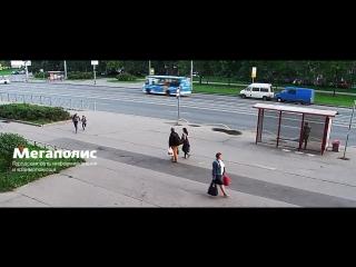 Момент смертельного ДТП на Шлиссельбургском