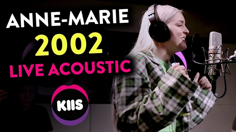 Anne Marie Nails EVERY SINGLE NOTE In '2002' Live Acoustic KIIS1065 Kyle Jackie O