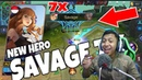 New Hero Dapat 7X SAVAGE Karakter Baru Guinevere Mobile Legends Bang Bang