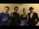 Видео поздравления в честь 30-летия банка от группы А-Студио