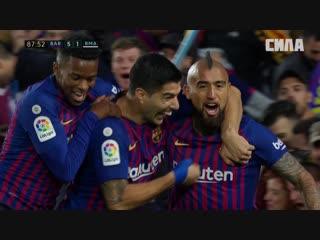 «Барселона» - «Реал Мадрид». Гол Артуро Видаля
