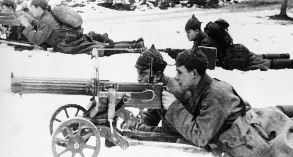 Пулеметчики