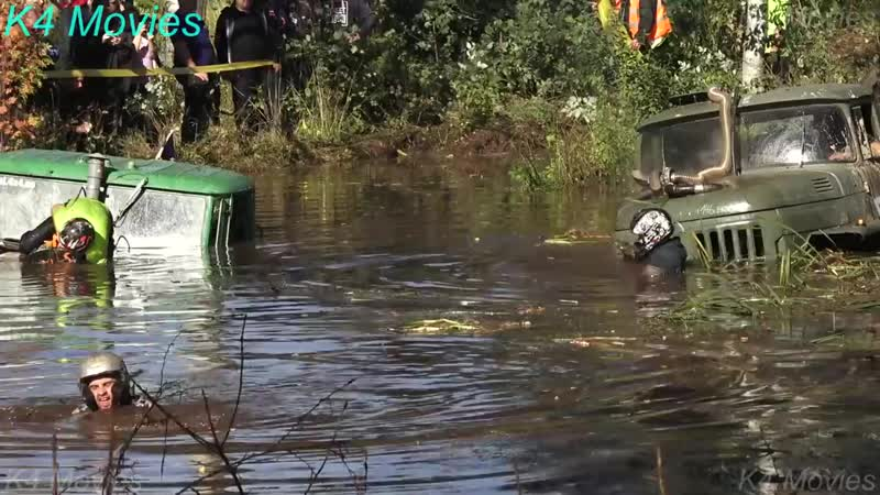 Off-Road Truck Mud Race and Super Swim _ Andsumae