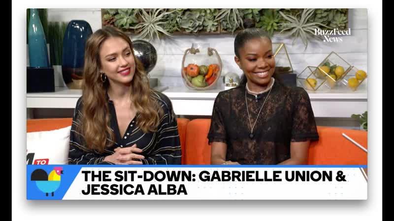HD: Джессика Альба и Гэбриэл Юнион на записи передачи в Нью-Йорке (15 мая 2019) » Freewka.com - Смотреть онлайн в хорощем качестве