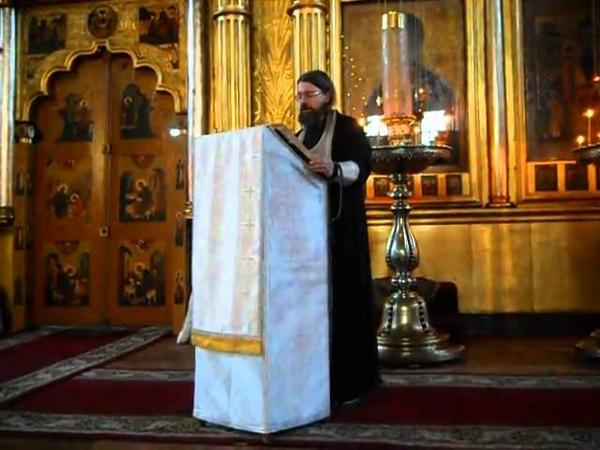 Синоксарь читает иерей Никола Бобков(Старообрядцы - Lipoveni - Old believers)