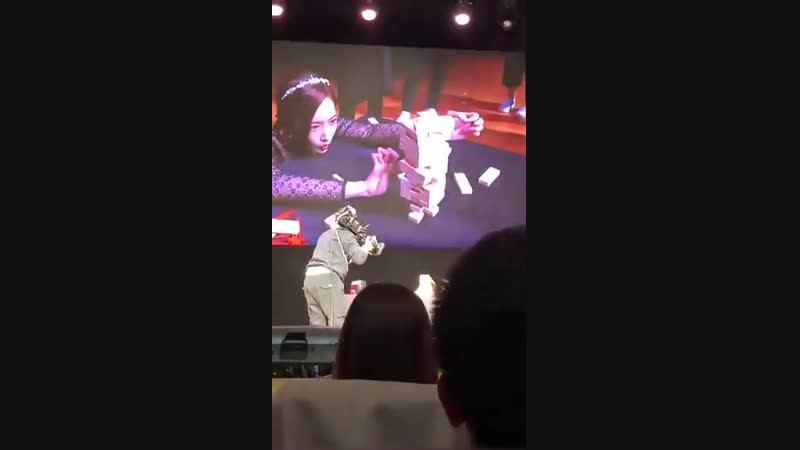 PARK MIN YOUNG FIRST FAN MEETING IN TAIWAN - - WAHHHH YOURE SO GOOD EONNIE - - video credit to Viaaaaaamystery weibo - - P