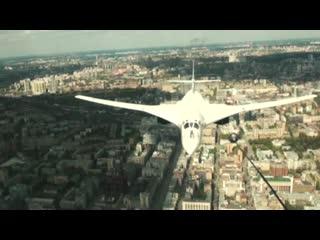 Ту-160: пролёт на Параде Победы