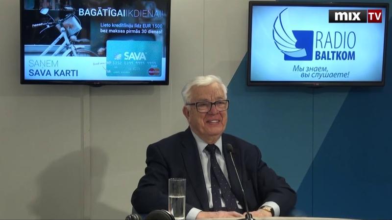 Маэстро Раймонд Паулс в программе Разворот MIXTV