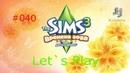 Давай играть в Симс 3 Времена года 040 Арина в чудесном положении