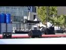 Кристиан Тиссье шихан 8й дан айкидо айкикай - выступление в парке Ла-Веллетт. Santé Sport 2018 - Aïkido - Démonstration de Chris