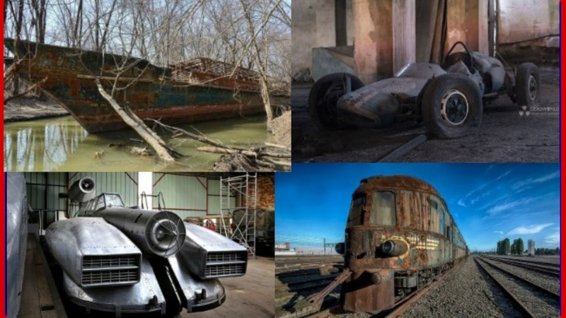 10 Most Creepiest Abandoned Vehicles Around The World. Defunct Machines. Forgotten Rusty Vehicles