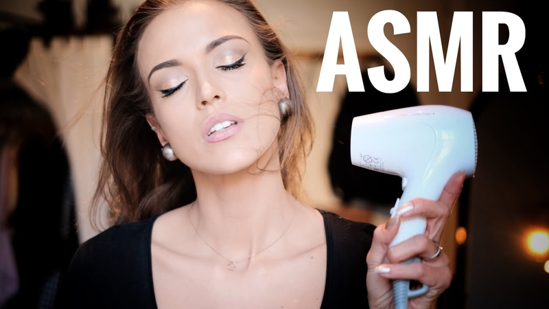 ASMR Gina Carla 😴 Relaxing Hair Dryer Sound My Weird Habit