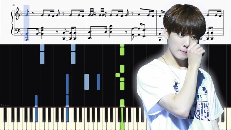 BTS - FAKE LOVE - PIANO TUTORIAL SHEETS