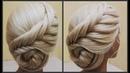 Прически Обучение прическам Красивые прически Course on hairstyles
