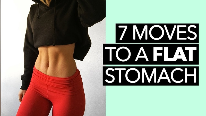 BEST Exercises To Get A Flat Stomach | 7 MOVES, 15 MINS